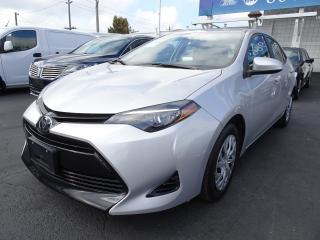 Used 2018 Toyota Corolla Pre-Collision Alert System, Low Kms, Bluetooth for sale in Vancouver, BC