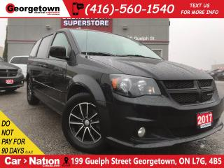 Used 2017 Dodge Grand Caravan GT | POWER DOORS | LEATHER | HEATED SEATS | for sale in Georgetown, ON