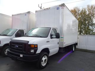 Used 2017 Ford Econoline Commercial Cutaway 16' Cube Van, Power Railgate, Low Kms for sale in Vancouver, BC