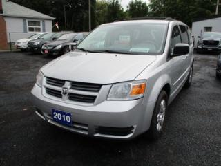 Used 2010 Dodge Grand Caravan FAMILY MOVING SE MODEL 7 PASSENGER 3.3L - V6.. CAPTAINS.. STOW-N-GO.. CD/AUX INPUT.. for sale in Bradford, ON