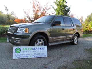 Used 2004 Ford Expedition EDDIE BAUER, LOADED, INSP, FREE WARRANTY, FINANCE! for sale in Surrey, BC
