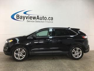 Used 2018 Ford Edge Titanium - ALLOYS! REM START! HTD LTHR! REV CAM! SYNK! SONY SOUND SYSTEM! APPLE CAR PLAY! for sale in Belleville, ON
