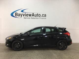 Used 2017 Ford Focus SEL - ALLOYS! KEYLESS ENTRY! SUNROOF! HTD SEATS! NAV! REV CAM! PARK AID! HTD WHEEL! SONY SOUND SYSTEM! for sale in Belleville, ON