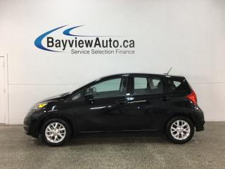 Used 2018 Nissan Versa Note 1.6 SV - ALLOYS! KEYLESS ENTRY! HTD STS! A/C! REV CAM! BLUETOOTH! CRUISE! for sale in Belleville, ON