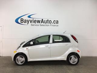 Used 2016 Mitsubishi i-MiEV - ALLOYS! KEYLESS ENTRY! HTD STS! A/C! REV CAM! BLUETOOTH! for sale in Belleville, ON