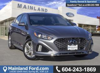 Used 2018 Hyundai Sonata 2.4 Sport *ACCIDENT FREE* *LOCALLY DRIVEN* for sale in Surrey, BC