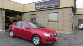 Used 2013 Chevrolet Cruze LT Turbo Turbo, Bluetooth, Cruise Control for sale in Kingston, ON
