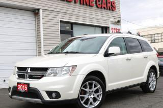 Used 2015 Dodge Journey R/T 7 Passengers. Front/ Rear Climate. Media Centre for sale in Toronto, ON