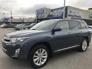 Used 2013 Toyota Highlander HYBRID ONE OWNER|ACCIDENT FREE|CAMERA|SUNROOF|CERTIFIED for sale in Concord, ON