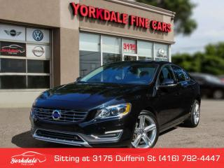 Used 2016 Volvo S60 T5 Special Edition Premier Navigation. Camera.Collision warnning. Blind Spot Assist for sale in Toronto, ON