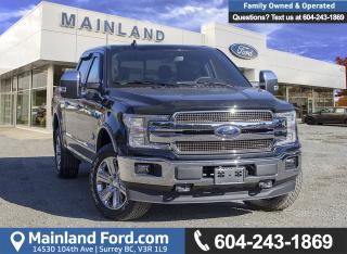 New 2018 Ford F-150 King Ranch for sale in Surrey, BC