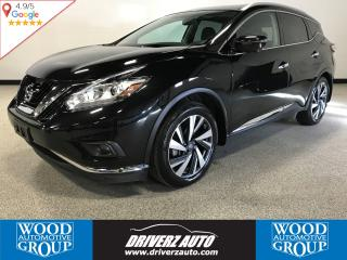Used 2017 Nissan Murano Platinum AWD, 360 CAMERA, PANORAMIC SUNROOF for sale in Calgary, AB
