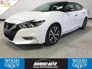 Used 2018 Nissan Maxima SL APPLE CARPLAY/ANDROID AUTO, CLEAN CARPROOF, HEATED STEERING WHEEL for sale in Calgary, AB
