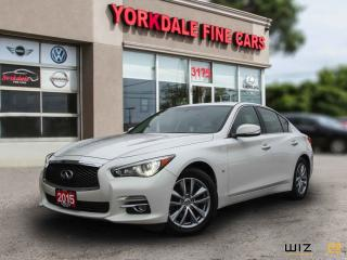 Used 2015 Infiniti Q50 Luxury Pkg. Navigation. Camera. Blind Spot. Adaptive Cruise for sale in Toronto, ON