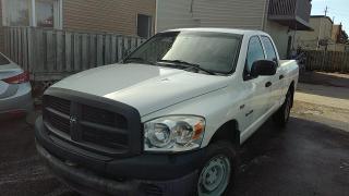 Used 2008 Dodge Ram 1500 4WD Quad Cab 140.5