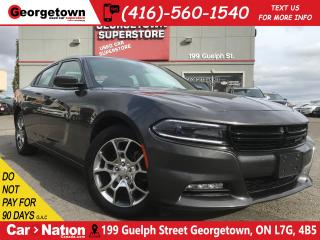 Used 2016 Dodge Charger SXT | AWD | CLEAN CARPROOF | SUNROOF | NAVI for sale in Georgetown, ON