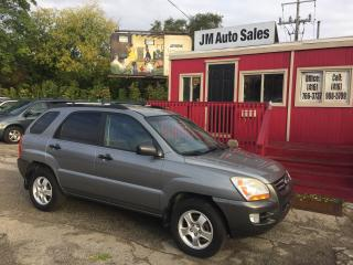 Used 2007 Kia Sportage LX-Convenience for sale in Toronto, ON