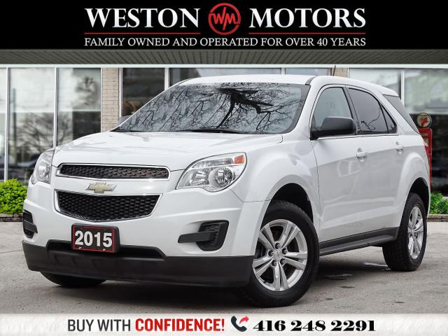 2015 Chevrolet Equinox LS*POWER GROUP*BLUETOOTH*WOW LOW KM!!