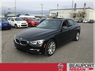 Used 2017 BMW 3 Series 320I XDRIVE ***TOIT OUVRANT + NAVIGATION for sale in Beauport, QC