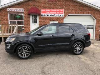 Used 2016 Ford Explorer Sport Sport AWD Ecoboost 7 Passenger Loaded for sale in Bowmanville, ON