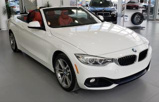 Used 2015 BMW 428i Xdrive Cabriolet White for sale in Dorval, QC