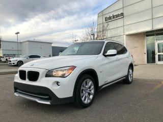 Used 2012 BMW X1 ALL WHEEL DRIVE/HEATED SEATS/SUNROOF for sale in Edmonton, AB