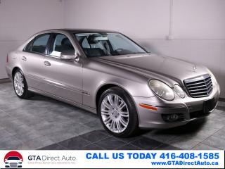 Used 2009 Mercedes-Benz E-Class E300 3.0L 4MATIC AWD NAV AVANTGARDE Certified for sale in Toronto, ON