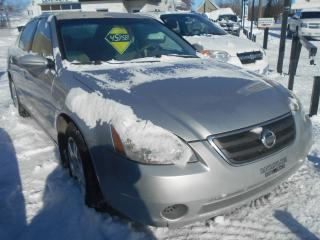 Used 2002 Nissan Altima Berline S 4 portes, for sale in Sorel-Tracy, QC