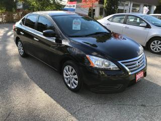 Used 2013 Nissan Sentra S   LOM MILEAGE   NO ACCIDENT for sale in Cambridge, ON