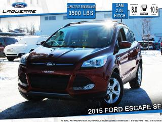 Used 2015 Ford Escape Se Cam Awd Hitch for sale in Victoriaville, QC