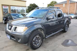Used 2015 Nissan Frontier Pro-4X for sale in Brampton, ON
