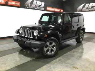 Used 2016 Jeep Wrangler WRANGLER UNLIMITED-CUIR-2 TOITS-GPS-4X4 for sale in Carignan, QC