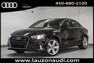 Used 2018 Audi A3 2.0T quattro Komfort for sale in Laval, QC