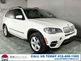 Used 2011 BMW X5 35d xDrive Diesel NAV Pano 360Cam Xenon Certified for sale in Toronto, ON