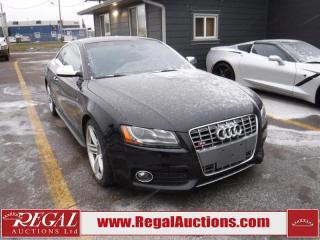 Used 2010 Audi S5 Premium Plus 2D Coupe Qtro 4.2 AWD for sale in Calgary, AB