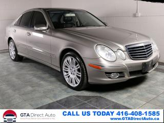 Used 2007 Mercedes-Benz E-Class E350 3.5L 4Matic AWD nNAV Sunroof Xenons Certified for sale in Toronto, ON