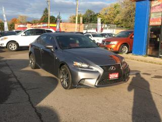 Used 2014 Lexus IS 350 F Sport | READ LEATHER | NAV | ROOF | CAM for sale in London, ON