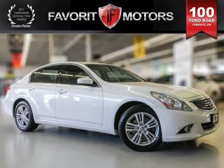 Used 2012 Infiniti G37 X Luxury, AWD, Navigation, Heated Seats for sale in North York, ON