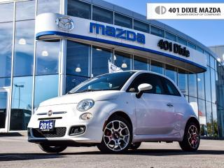 Used 2015 Fiat 500 Sport, NO ACCIDENTS, FINANCE AVAILABLE for sale in Mississauga, ON