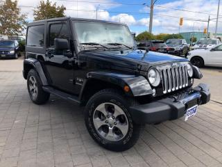 Used 2017 Jeep Wrangler Sahara**Leather**Navigation** for sale in Mississauga, ON