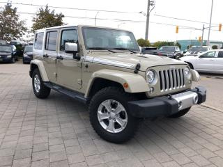 Used 2017 Jeep Wrangler Unlimited Chief Edition**Leather**Dual TOP Group** for sale in Mississauga, ON