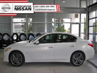 Used 2015 Infiniti Q50 Sport  -  Leather Seats - $181.66 B/W for sale in Mississauga, ON