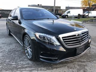 Used 2017 Mercedes-Benz S-Class S550 I 4MATIC I SWB I NAVIGATION I BACKUP CAMERA for sale in Toronto, ON