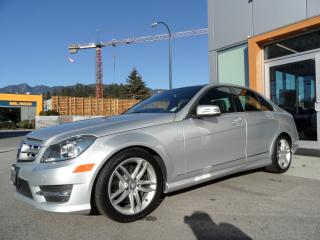 Used 2013 Mercedes-Benz C-Class C 300 4MATIC for sale in North Vancouver, BC