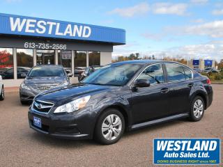 Used 2010 Subaru Legacy AWD for sale in Pembroke, ON