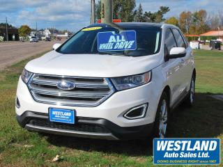 Used 2015 Ford Edge Titanium AWD for sale in Pembroke, ON