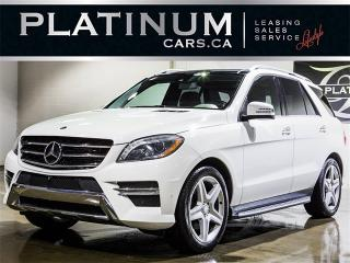 Used 2014 Mercedes-Benz ML 350 BlueTEC, AMG SPORT, NAVI, PANO, CAM for sale in Toronto, ON