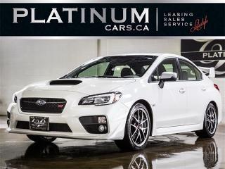 Used 2016 Subaru WRX STI Limited, SPORT-TECH, NAVI, CAM, Recaro Seats for sale in Toronto, ON