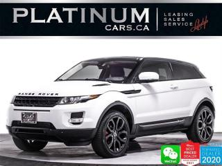 Used 2012 Land Rover Range Rover Evoque Coupe ,Pure Plus, AWD ,CAM ,NAV, PANO ,HEATED SEATS for sale in Toronto, ON
