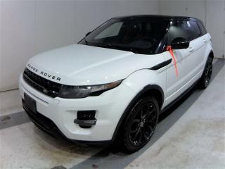 Used 2015 Land Rover Range Rover Evoque DYNAMIC, NAVI, PANO, CAM, MERIDIAN, RED Lthr Range Rover Evoque for sale in Toronto, ON
